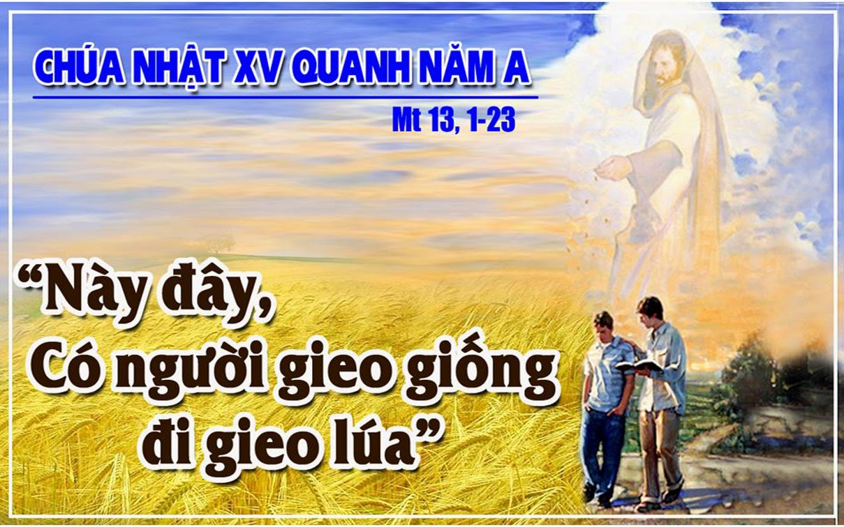 Lời cầu cứu của nô lệ xứ người các bài đọc lời Chúa (trích từ kinh thánh) trong thánh lễ Chúa Nhật 15 Thường Niên Năm A