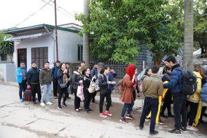 Rộn rã chào đón Tham dự viên về Lễ Truyền thống Hội SVCG TGP Hà Nội