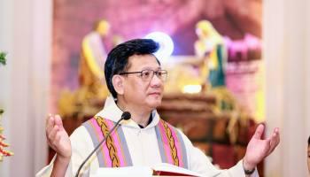 """""""VỘI"""" - Cha Vũ Thế Toàn giảng tĩnh tâm Mùa Vọng 2017 cho SVCG TGP Hà Nội tại giáo xứ Hà Đông - TGPHN"""