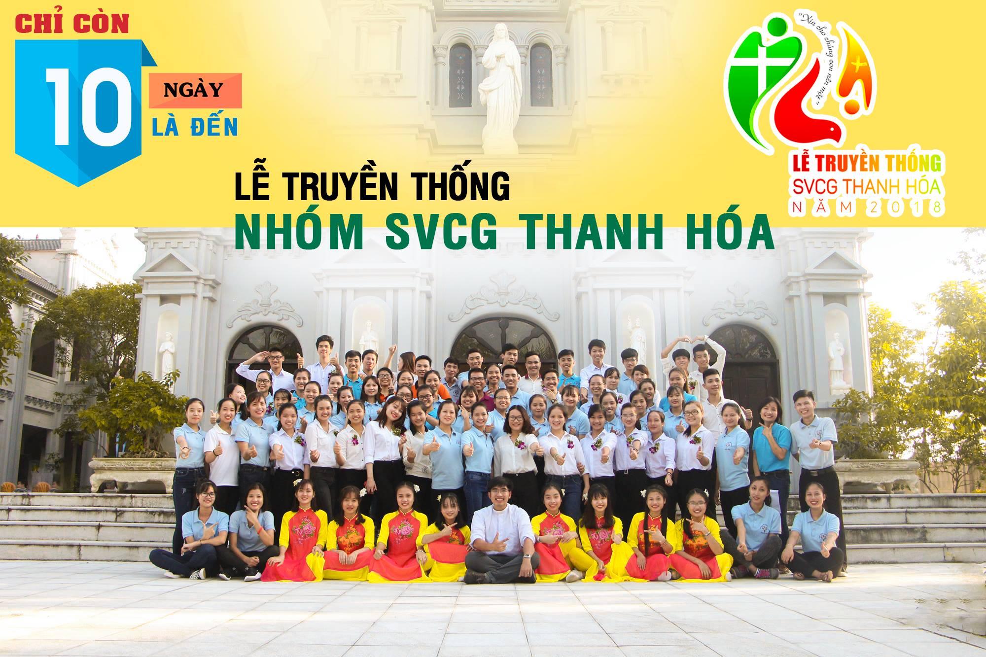 Chỉ còn gần 10 ngày Lễ Truyền thống SVCG Thanh Hóa 2018 sẽ diễn ra